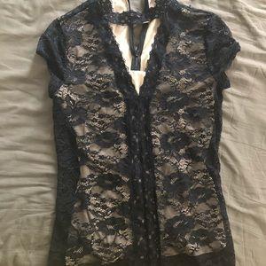 Tops - Express lace shirt